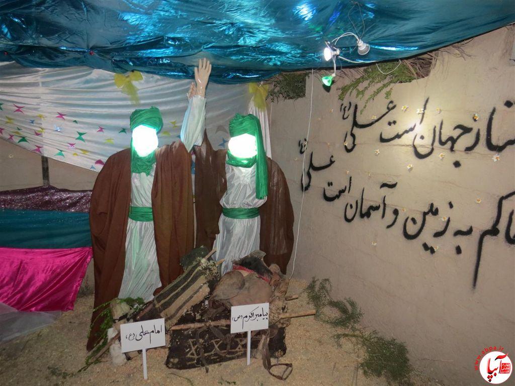 گزارش تصویری از نمایشگاه غدیر تا کربلا