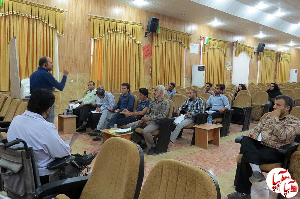 استقبال سرد روابط عمومی ادارات فراشبند از دوره آموزشی خبر نویسی