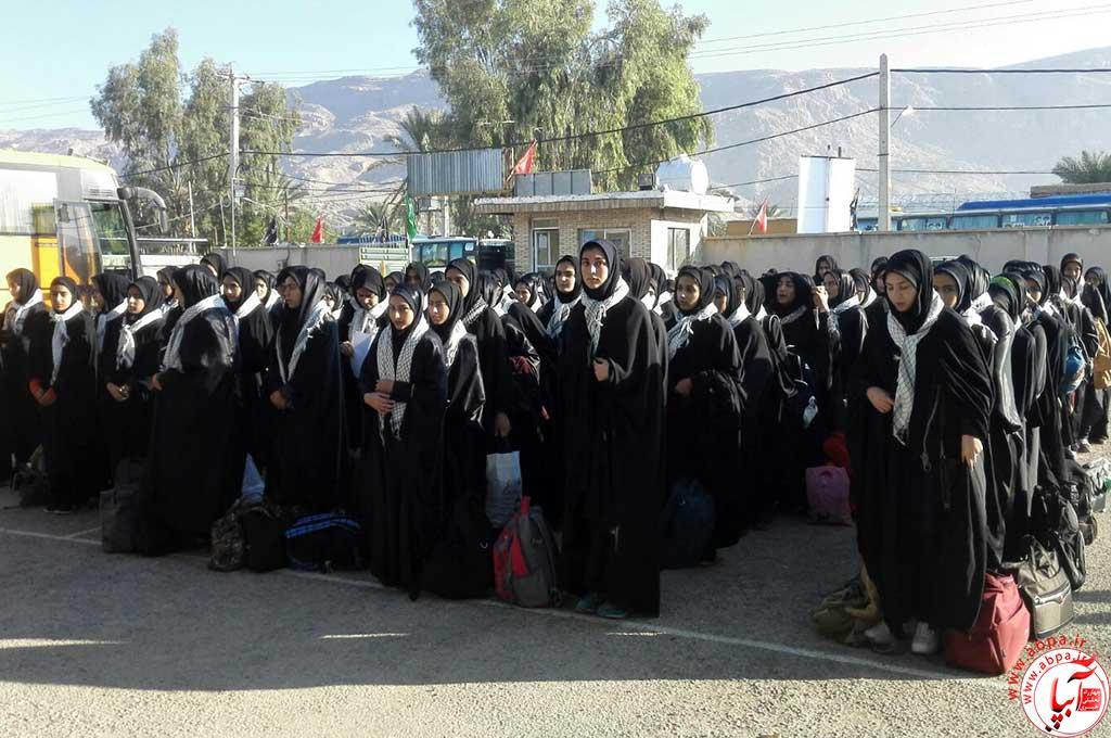 اعزام دومین کاروان راهیان نور دانش آموزی از شهرستان فراشبند