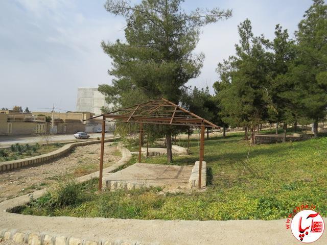 pic99491 بهرهبرداری از نخستین بوستان حاشیهای در فیروزآباد