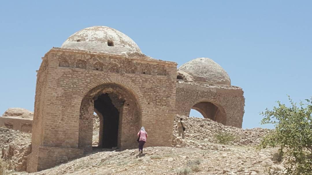 آبپا-چهارطاقی-3 پایتخت چهارطاقیهای ایران میزبان باستان شناسان اسپانیایی