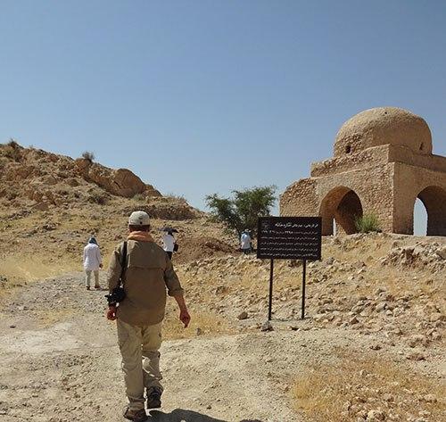 آبپا-چهارطاقی-4 پایتخت چهارطاقیهای ایران میزبان باستان شناسان اسپانیایی