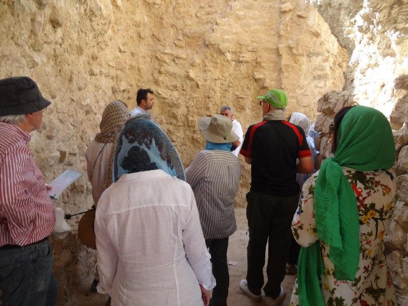 آبپا-چهارطاقی-6 پایتخت چهارطاقیهای ایران میزبان باستان شناسان اسپانیایی
