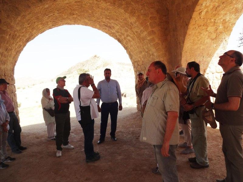 آبپا-چهارطاقی-7 پایتخت چهارطاقیهای ایران میزبان باستان شناسان اسپانیایی
