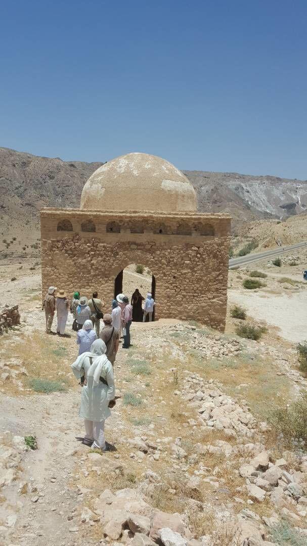 آبپا-چهارطاقی-8 پایتخت چهارطاقیهای ایران میزبان باستان شناسان اسپانیایی