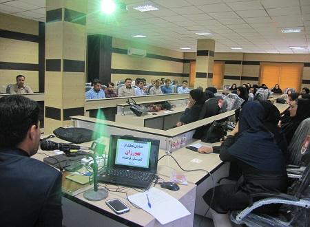 برگزاری آیین بزرگداشت روز بهورز در شهرستان فراشبند