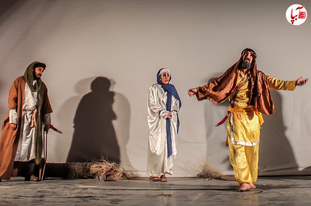 """گزارش تصویری از نمایش """"مذهبی قصه ما به سر رسید """""""