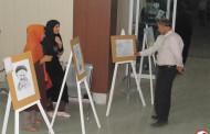 نمایشگاه نقاشی معلولان فراشبند برپا شد + گزارش تصویری