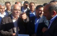 گزارش بازدید معاون وزیر راه از جاده جدید فراشبند فیروزآباد
