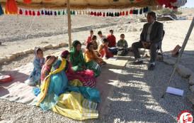 300 دختر عشایر فراشبند مدرسه ندارند