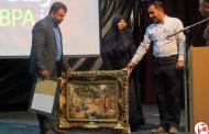 تجلیل از استاد محمود عالیشوندی در جشن یک سالگی آبپا