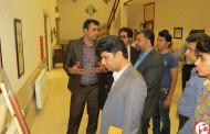 بازدید حاج محمود عالیشوندی از نمایشگاه خوشنویسی و نقاشیخط