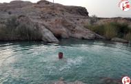 شنا در برم دری تهلو و رودخانه دهرم