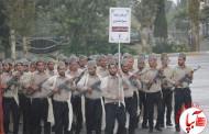 رژه قوم قشقایی به مناسبت هفته دفاع مقدس