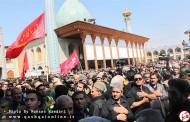 گزارش تصویری از مراسم سوگواری و عزاداری هیئت های قشقایی ها در شیراز