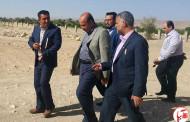 بازدید مدیر کل ورزش و جوانان فارس از مجموعه ورزشی شهید جوکار شهر نوجین