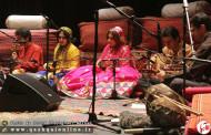گزارش تصویری از اجرای کنسرت گروه موسیقی استاد مسعود نامداری