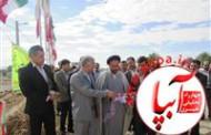 پروژه برق رسانی به شهرک امام علی (ع) منصورآباد نوجین افتتاح شد