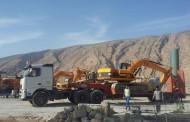 ارسال دومین محموله ماشین آلات به جاده ی فراشبند-مسقان-شیراز