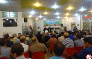 مراسم افتتاح دفتر کورش کرمپور در شهرستان فراشبند/تصویر