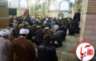 مراسم بزرگداشت شهادت آیت الله باقرالنمر در فیروزآباد برگزار شد