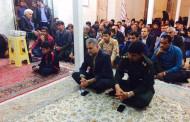 برگزاری مراسم یادبود شهدای عملیات بدر در روستای قنات باغ