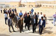 بازدید نماینده مجلس و مسئولین علوم پزشکی از بیمارستان امام هادی (ع) فراشبند