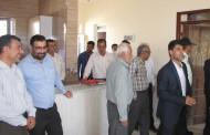 بهره برداری از خانه پزشک نوجین شهرستان فراشبند همزمان با هفته دولت