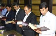 مراسم تحلیف اعضای شورای شهر فراشبند برگزار شد
