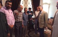 دیدار فرماندار و تنی چند از مسولین ادارات با آزادگان فراشبند