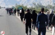 گزارش تصویری از پیاده روی جاماندگان اربعین در فراشبند (دو)