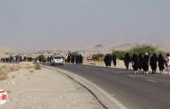گزارش تصویری از پیاده روی 30 کیلومتری مردم فراشبند ( سری اول )