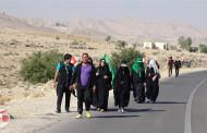 گزارش تصویری از پیاده روی 30 کیلومتری مردم فراشبند ( سری دوم )