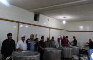 پخت و توزیع 4 تن آش نذری به مناسبت سالروز رحلت نبی گرامی اسلام در فراشبند