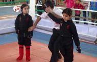 گزارش تصویری از مسابقات کمربند طلایی سبک تای کیک بوکسینگ در فراشبند