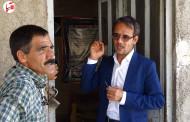 گزارش تصویری از بررسی وضعیت گلزار شهدا در اولین روز کاری شهردار فراشبند