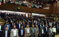 گزارش تصویری از آئین تکریم و معارفه فرماندار شهرستان فراشبند