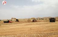 اجرای پروژه کنترل سیلاب و تغذیه مصنوعی روستای کورکی شهرستان فراشبند
