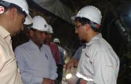 گزارش تصویری از بازدید فرماندار شهرستان از مجتمع معدن و کارخانه سرب و روی سرمه فراشبند
