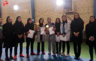 نایب قهرمانی تیم فوتسال بانوان فراشبند در جام دوستانه فوتسال بانوان