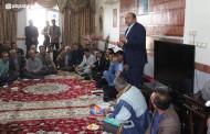 گزارش تصویری از دیدار کورش کرمپور با مردم روستا های کنارمالک و حسین آباد