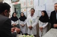 تجلیل از پرستاران بیمارستان امام هادی(ع) به مناسبت روز پرستار