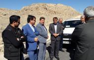 فیلم | گلایه دوباره فرماندار فراشبند از وضعیت جاده جدید فراشبند - فیروزآباد
