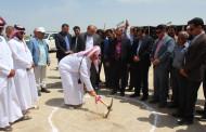 کلنگ زنی دو پروژه احداث مدرسه شهید عباسپور دژگاه و آب رسانی به روستای تل قم دهرم