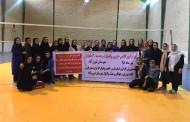 برگزاری کلاس داوری درجه ۳ والیبال بانوان در فیروزآباد