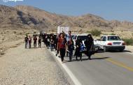 گزارش تصویری از پیاده روی جاماندگان اربعین در فراشبند