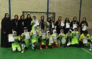 برگزاری مسابقات کارگری چند جانبه فوتسال بانوان به میزبانی شهرستان فراشبند