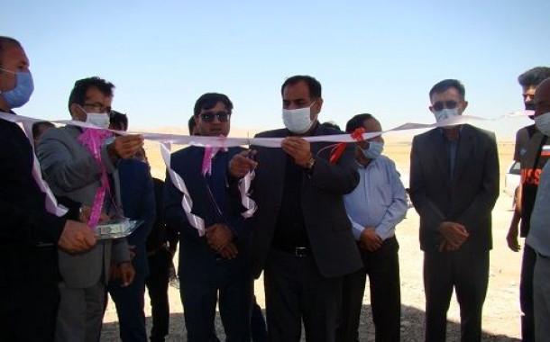 افتتاح یک واحد دامپروری در فراشبند