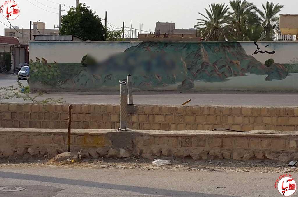 به بهانه نوشته های با مجوز و بی مجوز روی دیوارهای شهر