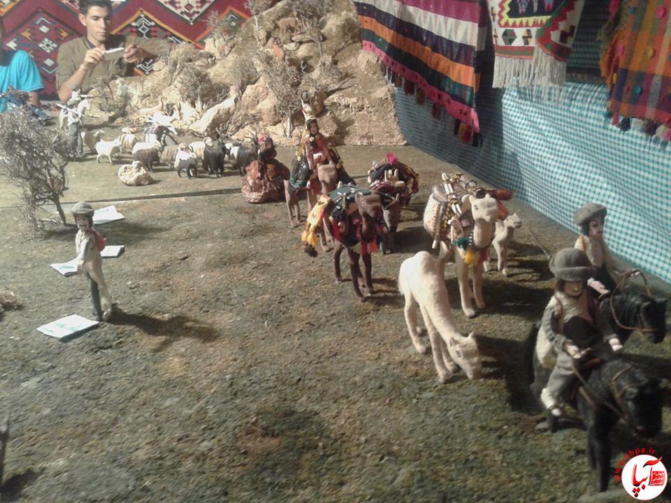 10590627_1549776158584116_731857662712520691_n نمایشگاه زندگی عشایری در فیروزآباد